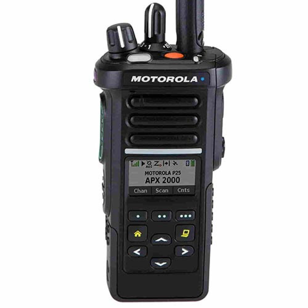 Motorola Solutions APX2000 Black Portable P25 Radio